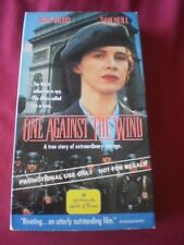 One Against The Wind VHS Movie Promo Screener Copy Judy Davis Sam Neill