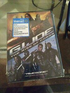 G.I. Joe: The Rise of Cobra (DVD, 2009) NEW SEALED