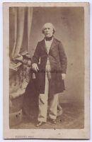 Foto Primitive CDV Da Tufferau Parigi Francia Europa Vintage Albumina Ca 1860
