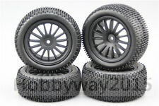 4pcs 1/10 Buggy Tires Lineae 15 spoke 15% Reinforced Nylon Wheel For 4WD Buggy