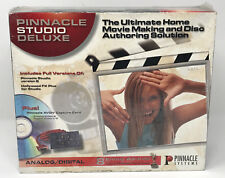 Pinnacle Studio Deluxe Analog/Digital Home Movie Making Disc Authoring - Sealed