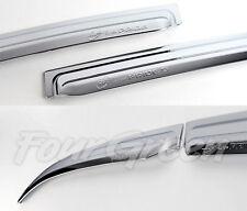 K-731 Car Chrome Window Visor for KIA RIO/All New Pride 5DR Hatchback 2012+