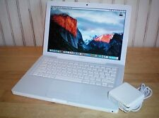 Apple Macbook Early 2009 A1181 2.0GHz 160GB 4GB 10.11 El Capitan Office iLife