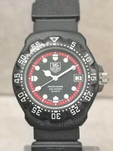 TAG Heuer Formula 1 Black/Red Quartz Wristwatch 383.513/1