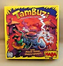 Jeu de Société Tambuzi - HABA - avec buzzer Bongo électronique - comme NEUF