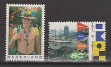NVPH Nederland Netherlands 1647-1648 used Wereldjamboree en Sail Amsterdam 1995