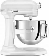 NEW KitchenAid 5KSM7581AFP Pro Line Bowl Lift Stand Mixer Frosted Pearl