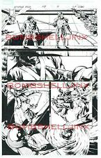 MARVEL WOLVERINE ORIGINS #48 PAGE 14 ORIGINAL ART BY WILL CONRAD