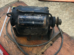 Vintage Heavy Duty DELCO THERMOTRON 1/4 hp 1740 RPM electric motor.  FAST S&H