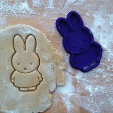 Miffy cookie cutter. Rabbit Miffy cookie stamp. Animal cookies