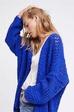 Free People Saturday Morning Cardi Sweater M/ L Medium Large  NWT Cardigan