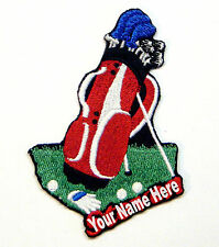 Golf Custom Iron-on Patch With Name Personalized Free
