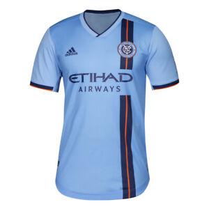 Adidas MLS New York City FC Jersey DP4784 Light Blue/Navy DP4784