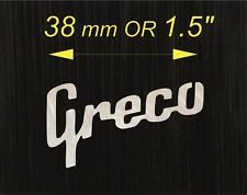 Mother of Pearl Vintage Greco Logo A++