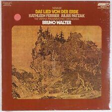 MAHLER: Das Lied Von BRUNO WALTER lp SEALED London UK Rare FERRIER