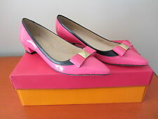Kate Spade New York - Anika Heel - Size 8 - Lipstick Pink Patent Shoes - NEW