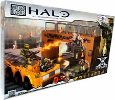 ** HALO Mega Bloks ANNIVERSARY ED. FLOODGATE 96971 NEW SEALED BOX Construx