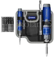 Kobalt 32-Piece Pc Double-Drive Screwdriver Tool Set FREE POUCH & EXTENSION BARS