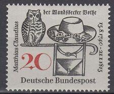 Germany Bund BRD 1965 Mi 462 ** Claudius Dichter Poet Eule Owl Hut Stock