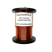0.25mm - ENAMELLED COPPER WINDING WIRE, MAGNET WIRE, COIL WIRE - 125 Gram Spool