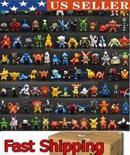USA ☀️ 144 pcs Pokemon Mini PVC Action Figures pikachu Toys Kids Gift Lot☀️