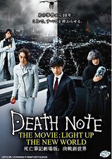 Japanese Movie DVD: Death Note: Light Up The New World_Eng Sub_R0_FREE SHIPPING