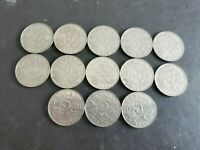 Canada 1922-1936 5 Cents George V Canadian Nickels 13 coins - Great Starter#11