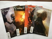 Eve Valkyrie #1, #2, #3, #4 Complete Set Main Cover New/Unread Dark Horse