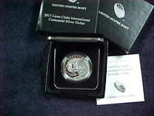 2017 P LIONS CLUBS INTERNATIONAL CENTENNIAL PROOF SILVER DOLLAR