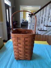 Vintage Collectible Longaberger Basket 1989 Signed Hgr
