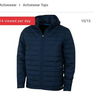 Sunice Rory Thermal Hooded Jacket blue Large