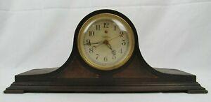 Vintage Warren Telechron M-1 Mantle Clock wood electric
