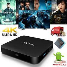 2018 TX3PRO Android 7.1.2 Nougat TV BOX Quad Core 4K Media Player WIFI MINI PC
