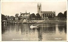 Hampton on Thames. Church & River # ?2856 by ?JMS.