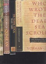 dead-sea-scrolls-Golb, Yadin,Trever, G. Vermes, R. de Vaux, Milik, etcbulk sales