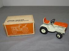 Vintage John Deere 140 Patio Lawn Garden Tractor ERTL New in Box RARE Orange