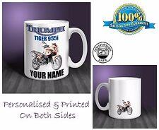 Triumph Tiger 955i Motorbike Personalised Ceramic Mug Gift (MB074)