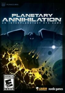 Planetary Annihilation for PC New. Sealed. RTS Video Game. Strategy.