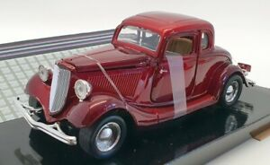 Motor Max 1/24 Scale #73200AC - 1934 Ford Coupe - Red