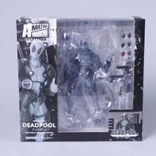 Marvel Legends X-men No.001 Gray Deadpool Action Figures Revoltech Kaiyodo Toy