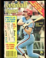 Baseball Digest Magazine April 1981 Mike Schmidt EX w/ML 020117jhe