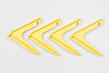 Delta Strong Tent Pegs for Awnings, Camping, Caravan and Motorhome - pack of 4