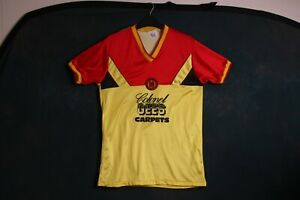 Fan shirt shrunk & hole in it  Partick Thistle very small home 1987 - 1989
