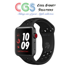 IN HAND Apple Watch Nike+ S3 42mm Anthracite/Black Sport Band Cellular A1891