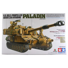 TAMIYA ITALERI US OBICE M109A6 Paladin (guerra in Iraq) TANK MODEL SET 37026 NUOVI