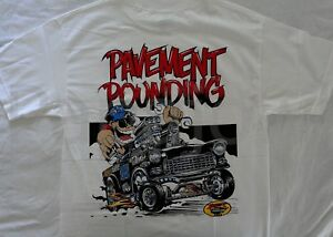 1955 Chevrolet Rat Fink Style Tshirt 55 Chevy America All Out Street Racing