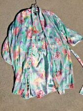 SALE @ Nearly New ARIA COLLECTION Floral Nightie Night Gown & Robe Womens Sz M