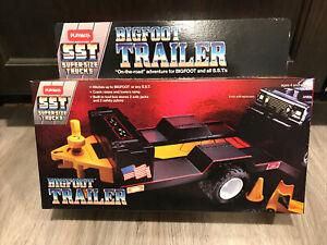1984 Playskool SST Bigfoot Trailer Complete In Box New!