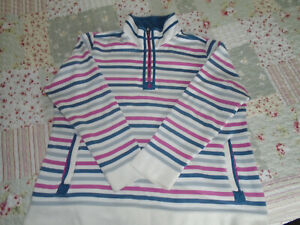 Tayberry lovely striped sweatshirt in size xl