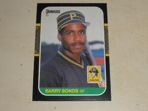 1987 Donruss #361 Barry Bonds Rookie RC Lot F